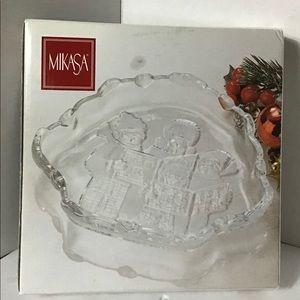 Mikasa Carolers Candy/Serving Dish